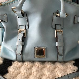 Dooney and Bourke  Saffiano Leather Satchel